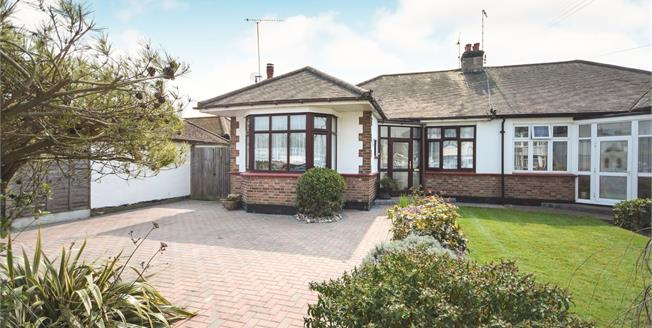 Asking Price £320,000, 2 Bedroom Semi Detached Bungalow For Sale in Rochford, SS4