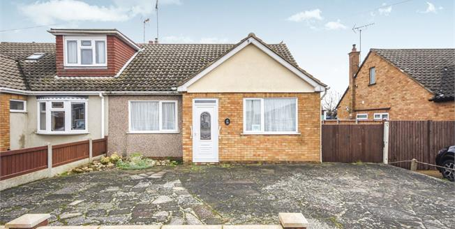 Asking Price £285,000, 2 Bedroom Semi Detached Bungalow For Sale in Rochford, SS4