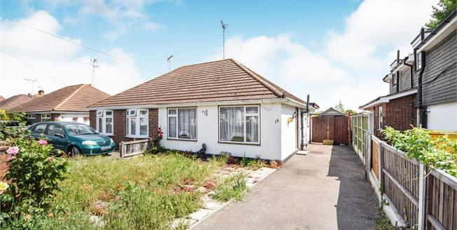Asking Price £265,000, 2 Bedroom Semi Detached Bungalow For Sale in Rochford, SS4