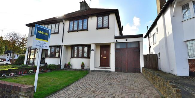 Asking Price £375,000, 3 Bedroom Semi Detached House For Sale in Westcliff-on-Sea, SS0