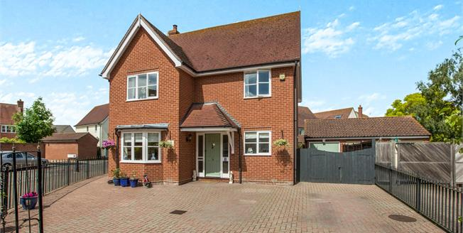 Asking Price £395,000, 4 Bedroom Detached House For Sale in Tiptree, CO5