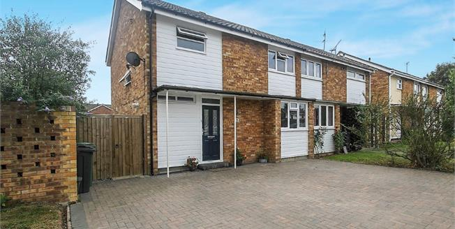 Guide Price £325,000, 3 Bedroom Semi Detached House For Sale in Witham, CM8