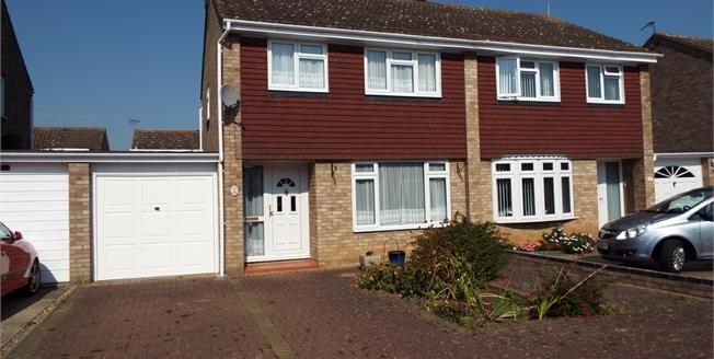 Asking Price £300,000, 3 Bedroom Semi Detached House For Sale in Witham, CM8