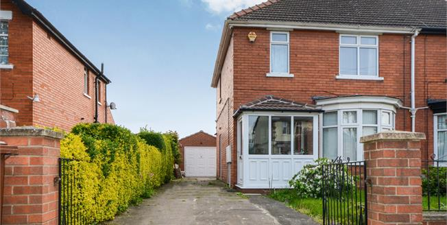 Asking Price £180,000, 3 Bedroom Semi Detached House For Sale in Lincoln, LN6