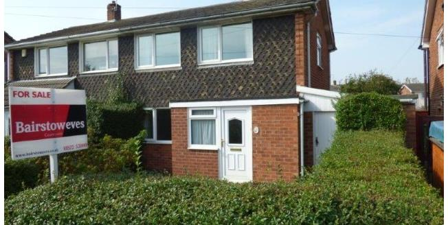 Offers Over £80,000, 2 Bedroom Semi Detached House For Sale in Lincoln, LN6