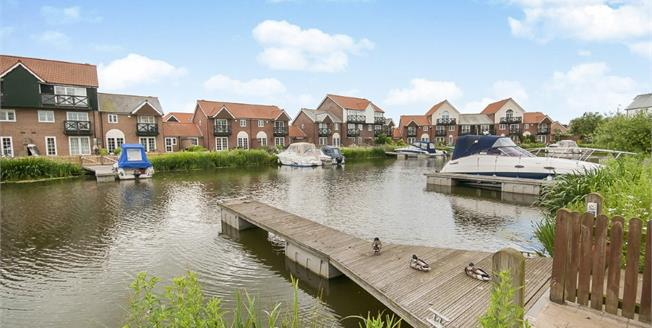 Asking Price £275,000, 3 Bedroom End of Terrace House For Sale in Burton Waters, LN1