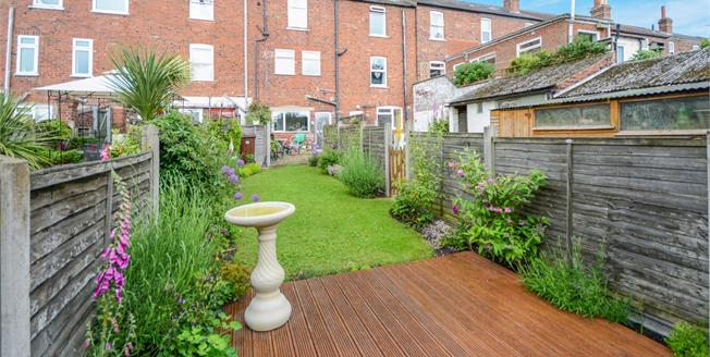 Asking Price £170,000, 2 Bedroom Terraced House For Sale in Lincoln, LN1