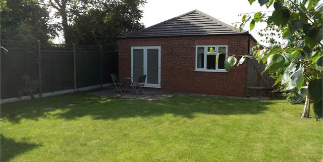 Asking Price £170,000, 2 Bedroom Detached Bungalow For Sale in North Hykeham, LN6