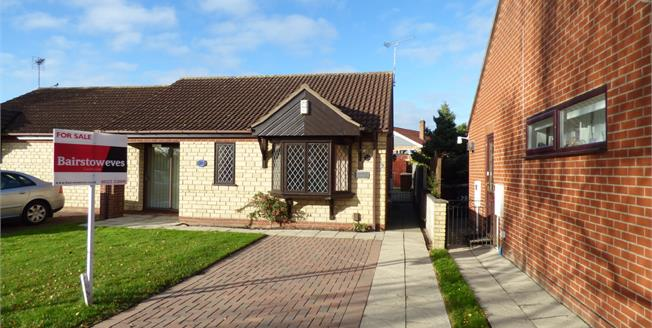 Asking Price £150,000, 2 Bedroom Semi Detached Bungalow For Sale in Lincoln, LN6