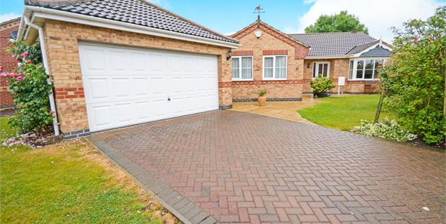 Asking Price £285,000, 4 Bedroom Detached Bungalow For Sale in Cherry Willingham, LN3
