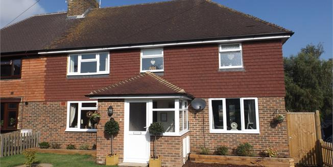 Guide Price £395,000, 5 Bedroom Semi Detached House For Sale in Hawkhurst, TN18