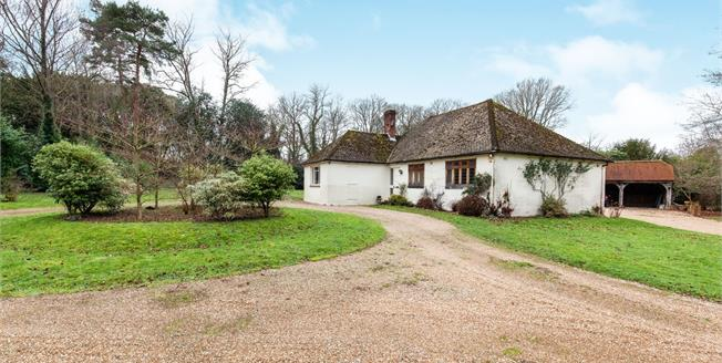 Offers in excess of £725,000, 3 Bedroom Detached Bungalow For Sale in Hawkhurst, TN18