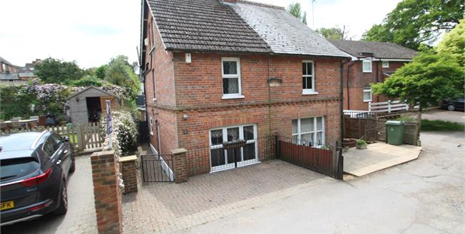 Guide Price £325,000, 3 Bedroom Semi Detached House For Sale in Hawkhurst, TN18