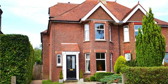 Asking Price £425,000, 4 Bedroom Semi Detached House For Sale in Punnetts Town, TN21