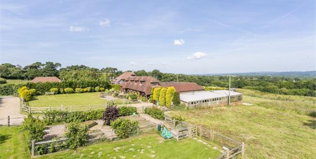 Guide Price £1,000,000, 4 Bedroom Detached House For Sale in Heathfield, TN21