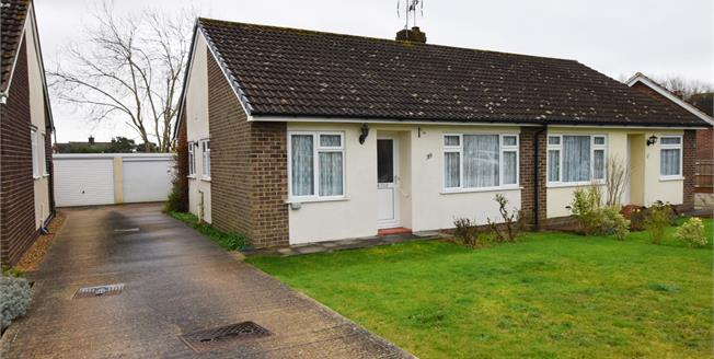 Asking Price £255,000, 2 Bedroom Semi Detached Bungalow For Sale in Horam, TN21
