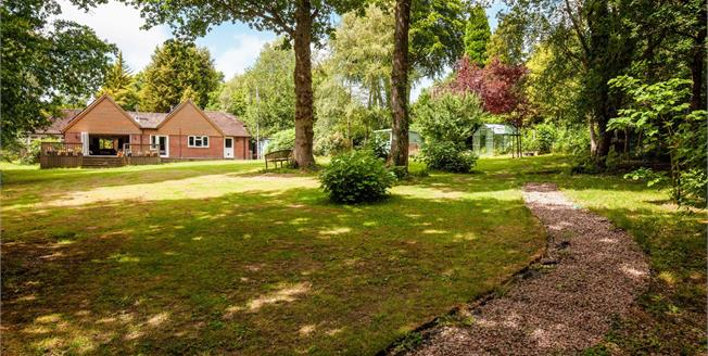 Offers in the region of £775,000, 4 Bedroom Detached Bungalow For Sale in Cross in Hand, TN21