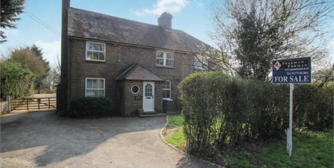Offers in excess of £600,000, 3 Bedroom Semi Detached House For Sale in Laughton, BN8