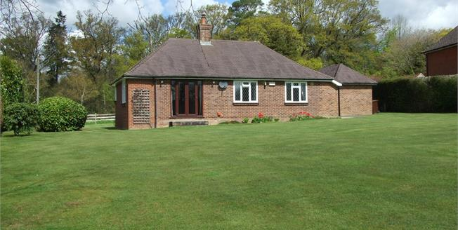 Guide Price £525,000, 2 Bedroom Detached Bungalow For Sale in Etchingham, TN19
