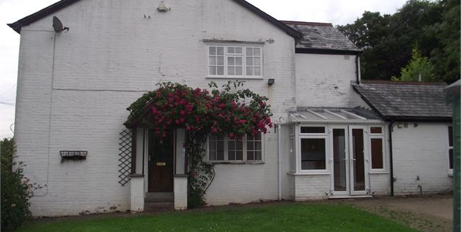 Guide Price £310,000, 2 Bedroom End of Terrace Cottage For Sale in Wadhurst, TN5