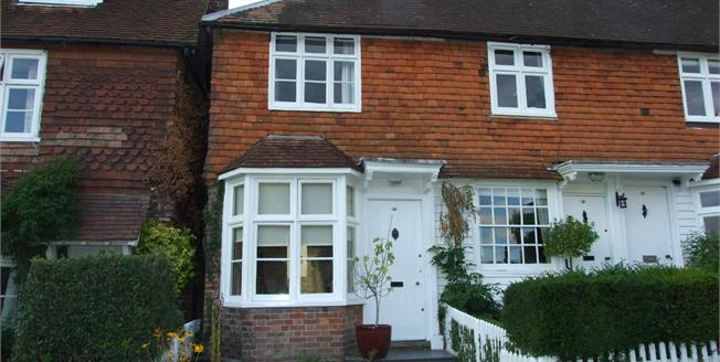 Guide Price £300,000, End of Terrace Cottage For Sale in Ticehurst, TN5