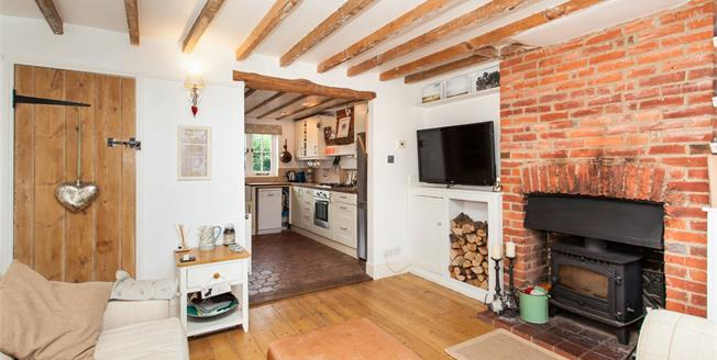 Asking Price £325,000, 2 Bedroom End of Terrace Cottage For Sale in Ticehurst, TN5