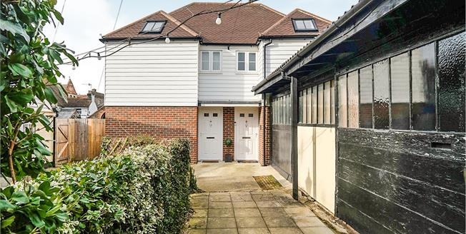 Asking Price £280,000, 2 Bedroom Semi Detached House For Sale in Kent, TN9