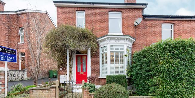 Guide Price £315,000, 2 Bedroom End of Terrace House For Sale in Tunbridge Wells, TN4