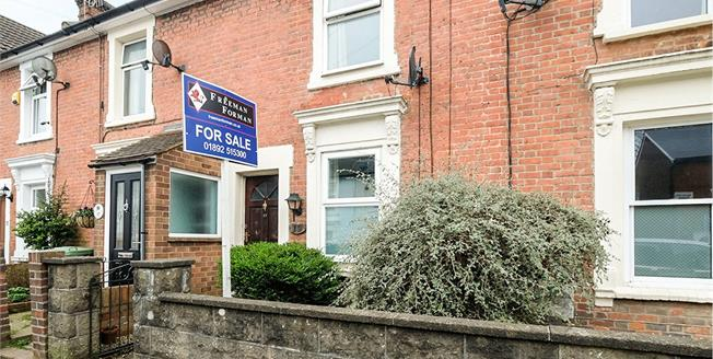 Guide Price £300,000, 2 Bedroom Terraced House For Sale in Tunbridge Wells, TN1