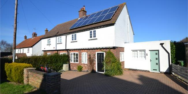 Guide Price £450,000, 4 Bedroom Semi Detached House For Sale in Pembury, TN2