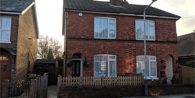 Guide Price £325,000, 2 Bedroom Semi Detached House For Sale in Tunbridge Wells, TN4