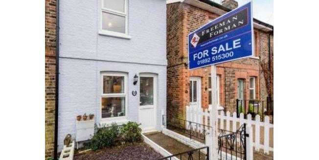 Guide Price £300,000, 2 Bedroom End of Terrace House For Sale in Tunbridge Wells, TN2