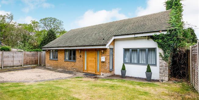 Guide Price £600,000, 3 Bedroom Detached Bungalow For Sale in Tunbridge Wells, TN2