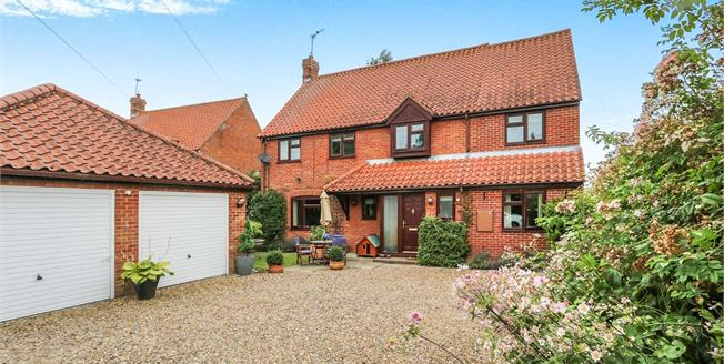 Offers in excess of £300,000, 4 Bedroom Detached House For Sale in Watton, IP25