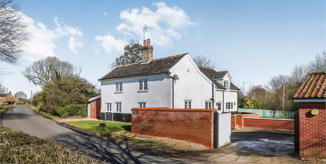 Asking Price £435,000, 4 Bedroom Detached House For Sale in Carbrooke, IP25