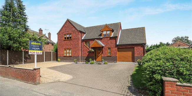 Offers in excess of £325,000, 3 Bedroom Detached House For Sale in Saham Toney, IP25