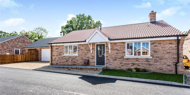 Guide Price £300,000, 3 Bedroom Detached Bungalow For Sale in Saffron Close, IP25