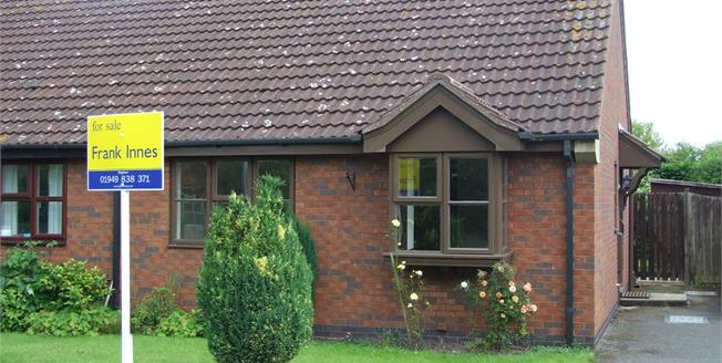 Asking Price £155,000, 2 Bedroom Semi Detached Bungalow For Sale in Bingham, NG13