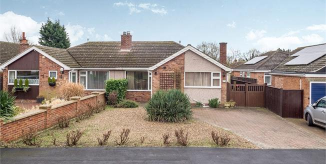 Asking Price £240,000, 2 Bedroom Semi Detached Bungalow For Sale in Bottesford, NG13