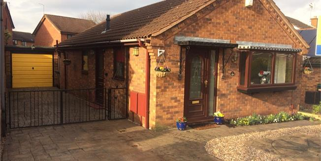 Asking Price £219,950, 2 Bedroom Detached Bungalow For Sale in Bingham, NG13