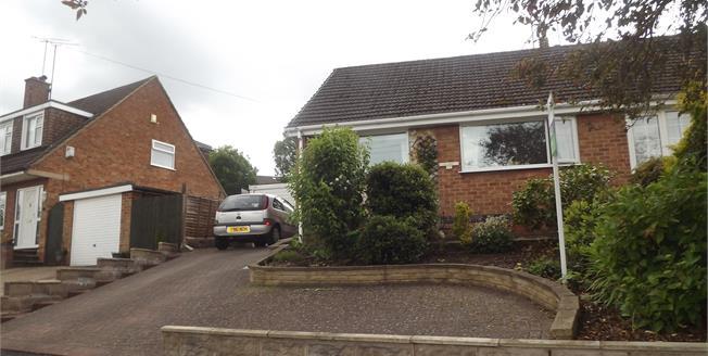 Asking Price £166,995, 2 Bedroom Semi Detached Bungalow For Sale in Allestree, DE22