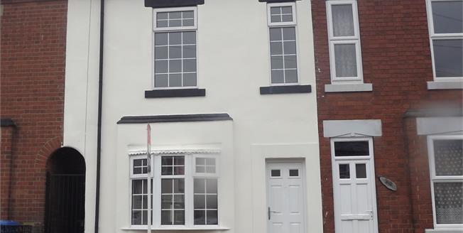 Offers in excess of £120,000, 2 Bedroom Terraced House For Sale in Alvaston, DE24