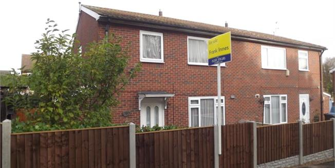 Asking Price £112,000, 3 Bedroom Semi Detached House For Sale in Chaddesden, DE21