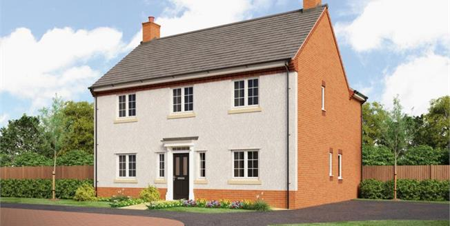 Asking Price £381,000, 4 Bedroom Detached House For Sale in Repton, DE65