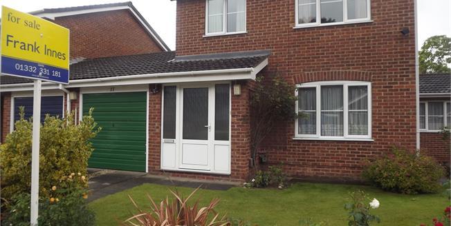 Asking Price £186,950, 3 Bedroom Link Detached House For Sale in Oakwood, DE21