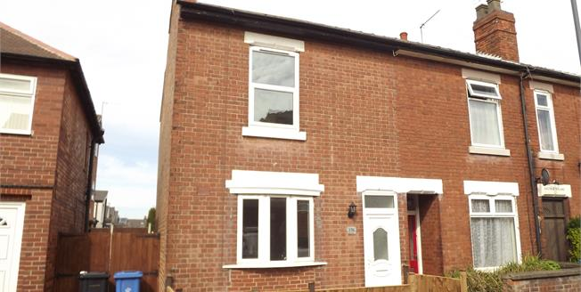 Offers Over £110,000, 2 Bedroom Terraced House For Sale in Alvaston, DE24