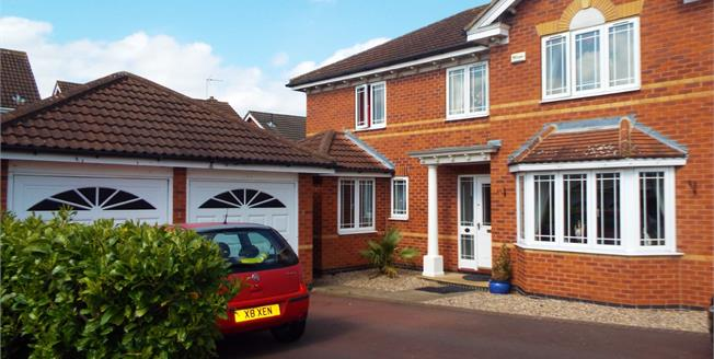 Asking Price £385,000, 4 Bedroom Detached House For Sale in Long Eaton, NG10