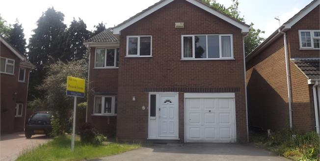 Offers Over £230,000, 4 Bedroom Detached House For Sale in Derby, DE23