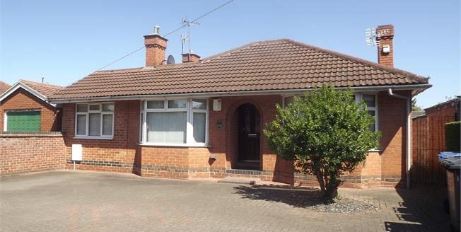 Guide Price £250,000, 4 Bedroom Detached Bungalow For Sale in Derby, DE24