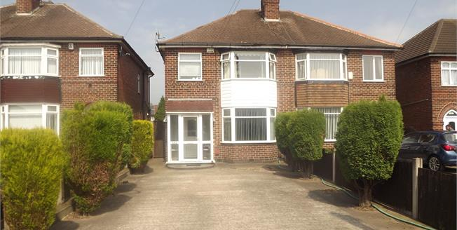 Offers Over £135,000, 3 Bedroom Semi Detached House For Sale in Derby, DE21